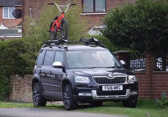 BMX Roof Rack