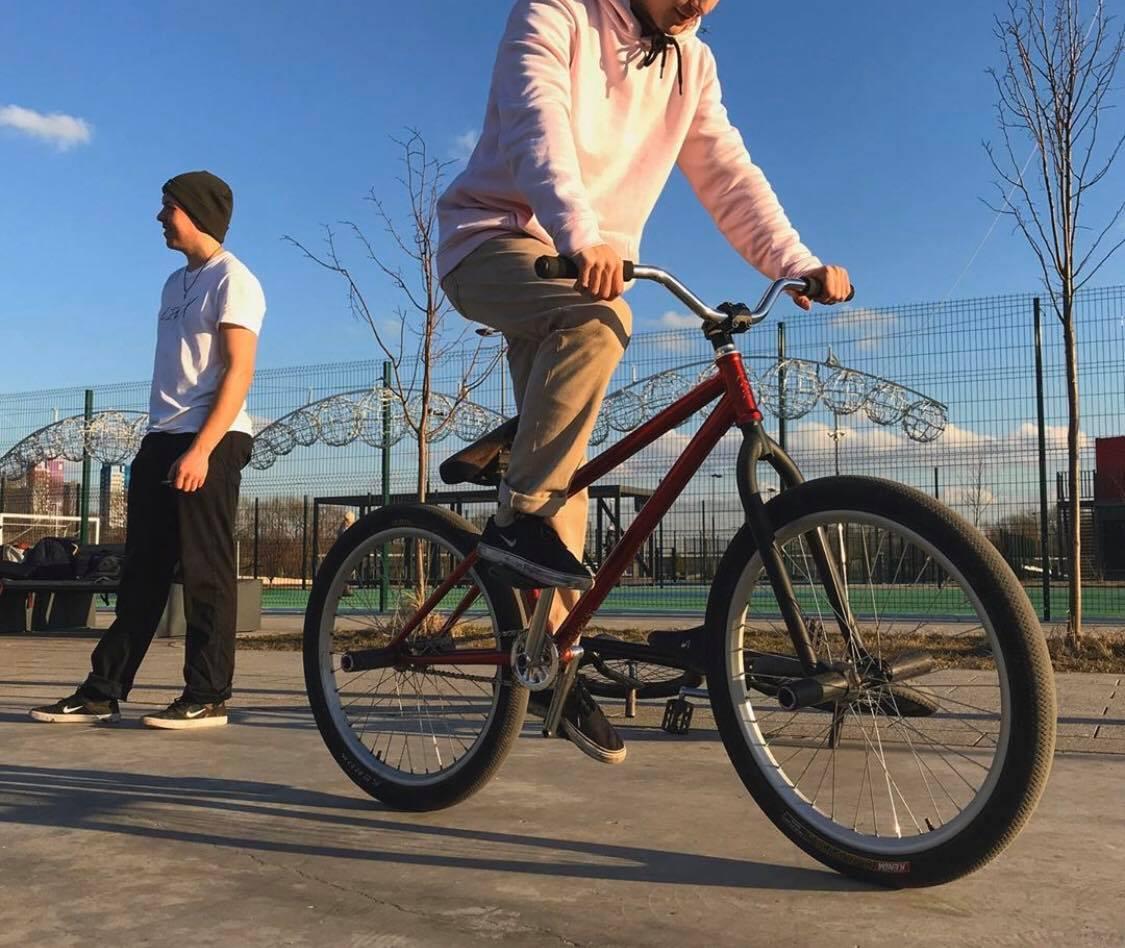 BMX Riding Stance