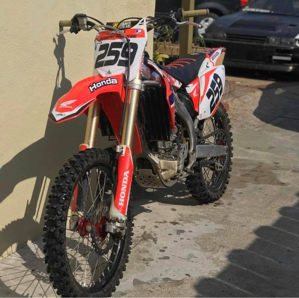 Beginner Motocross Bike
