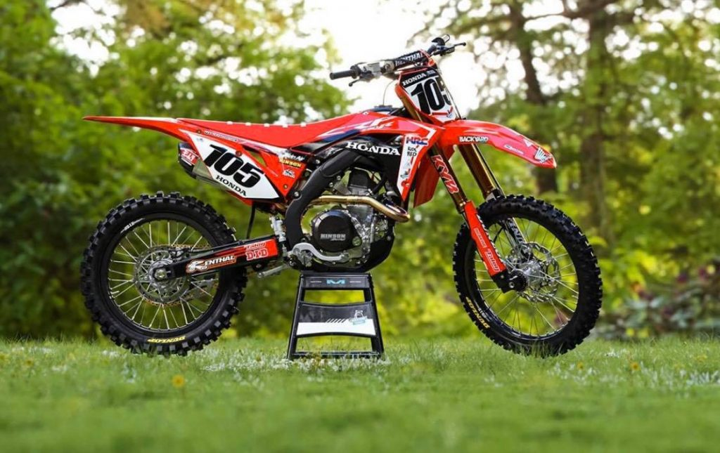 Honda CRF250 Beginner Dirt Bike