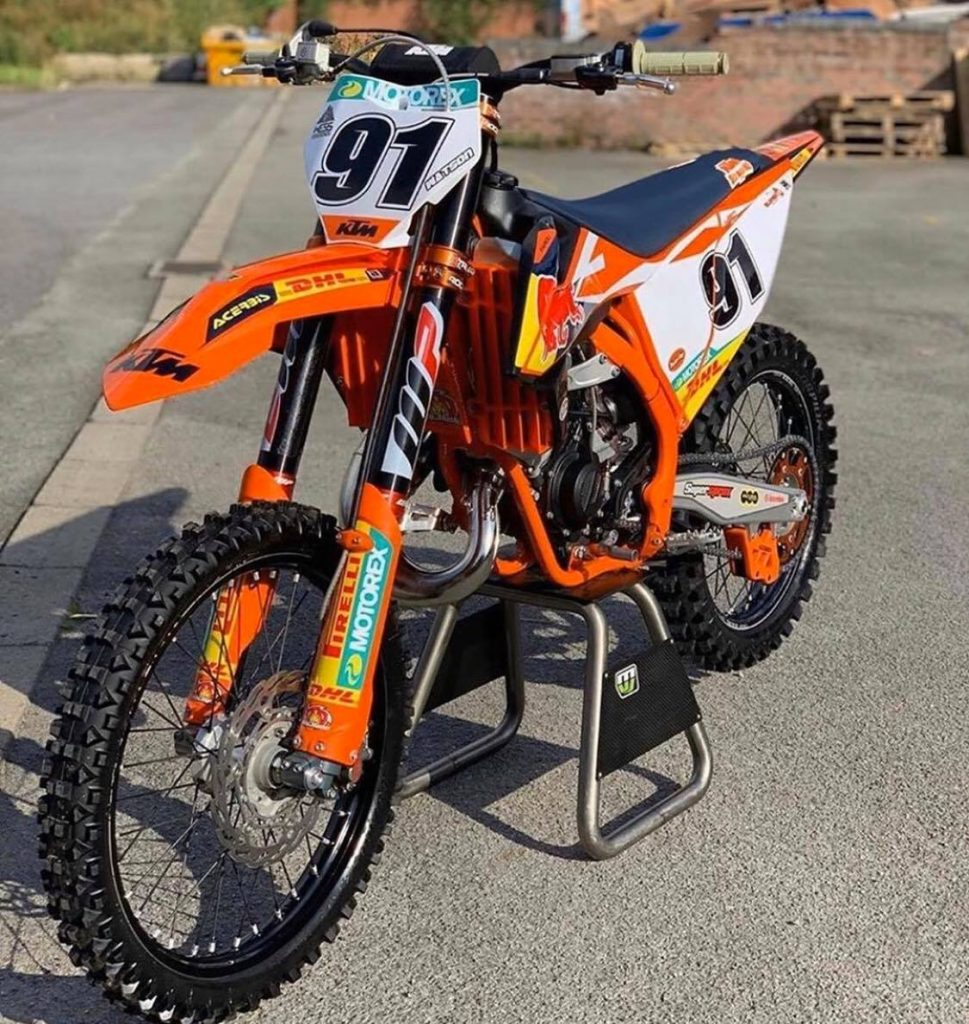 KTM 150 SX Beginner Dirt Bike