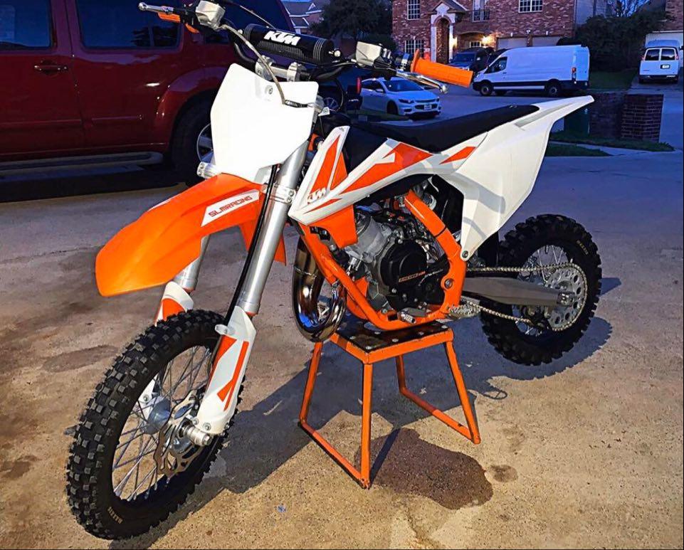 KTM 65 SX Dirt Bike