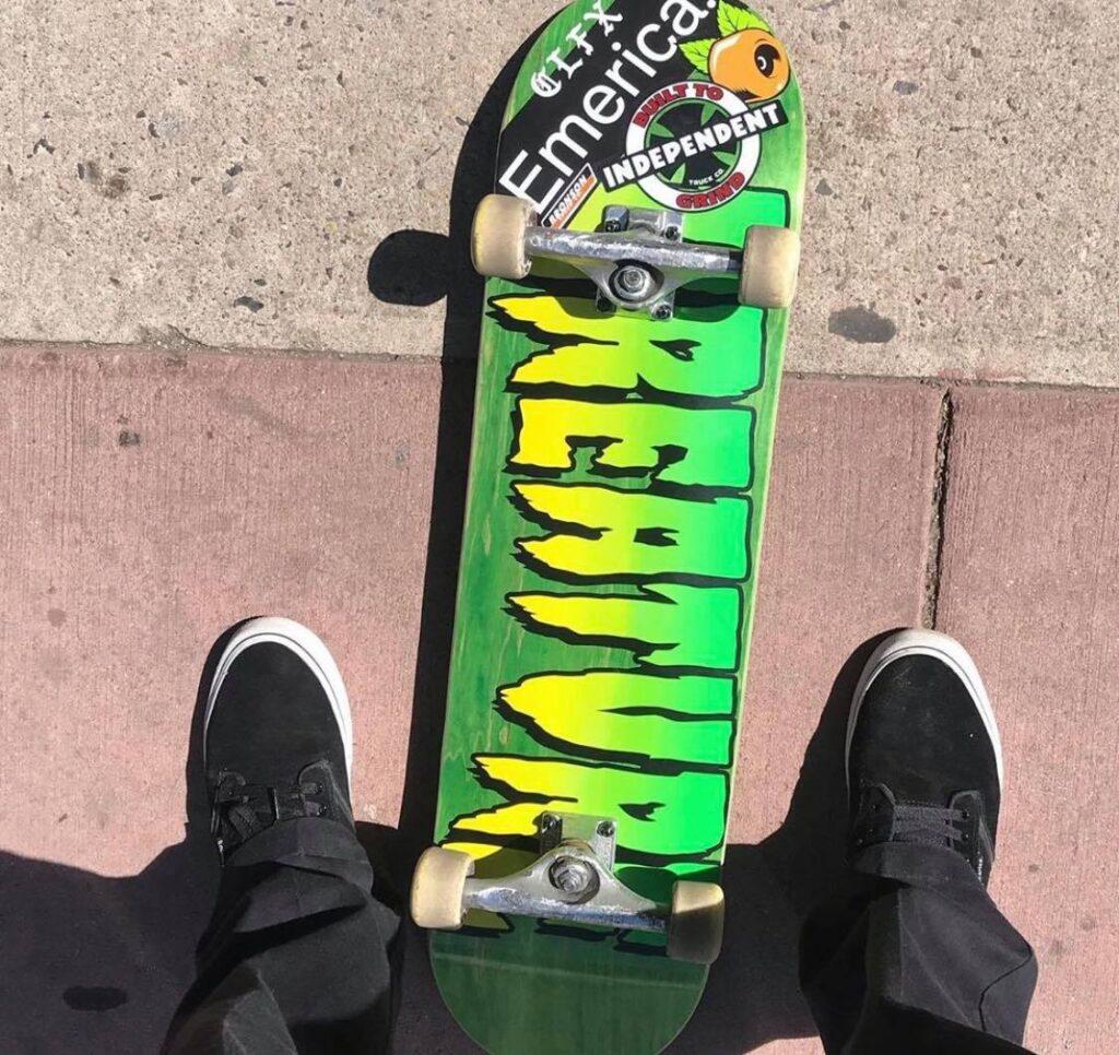 Creature Skateboard Sponsor