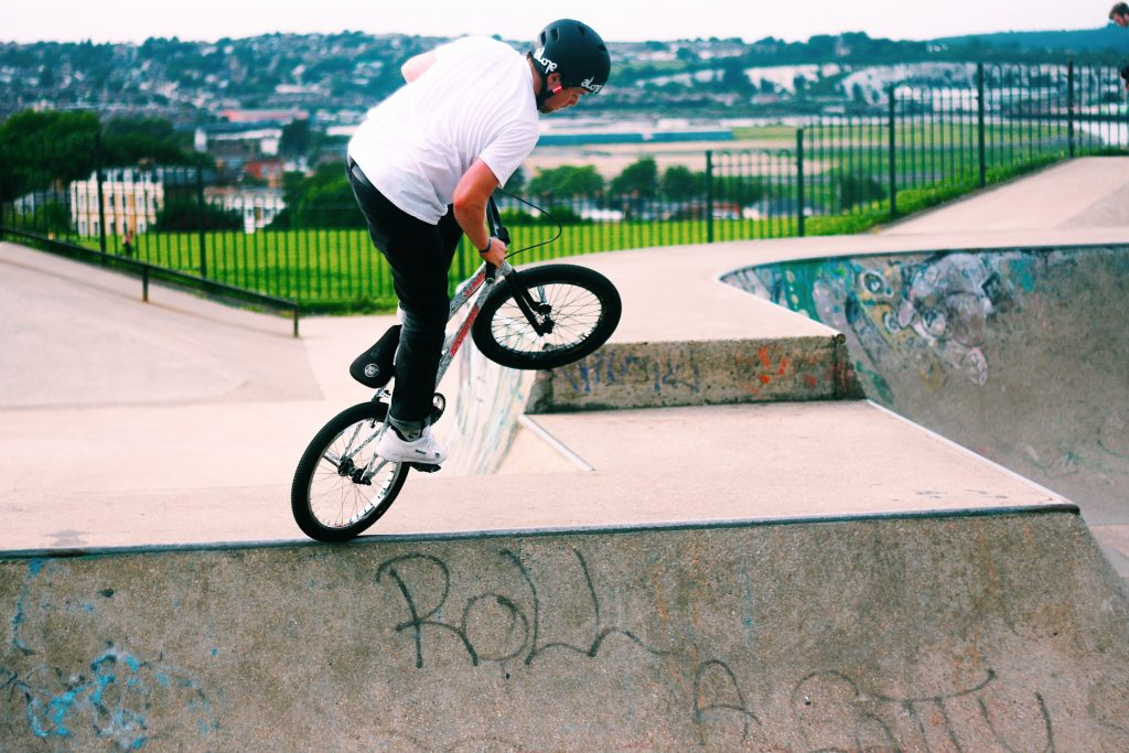 BMX Builds Your Muscles And Strength