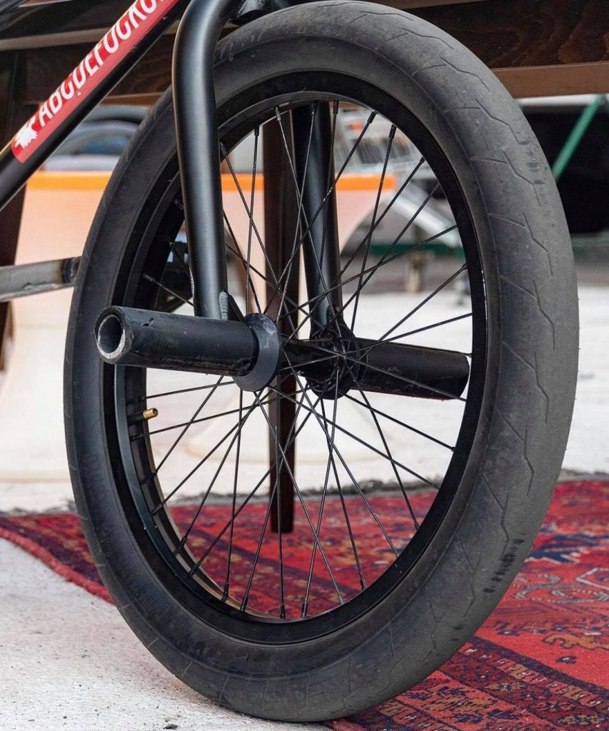 BMX Tire Pressure For Park Riding