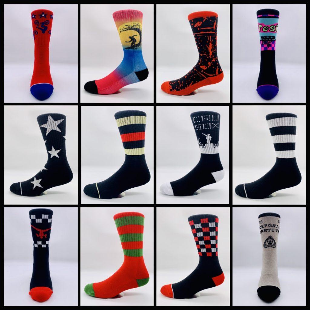 CRU SOX All Socks Photo